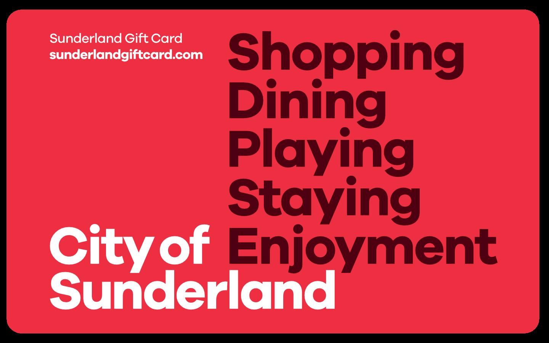 Sunderland Gift Card