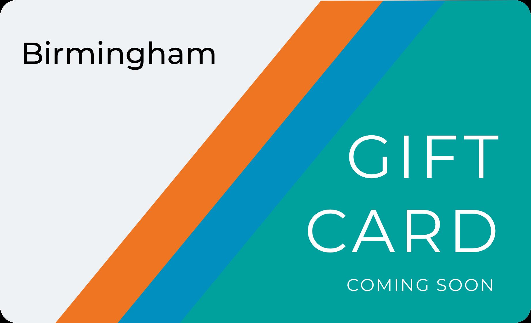 Birmingham Gift Card