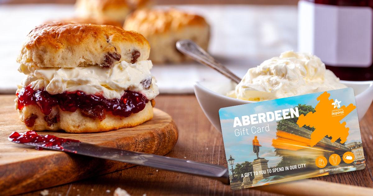 Afternoon Tea in Aberdeen